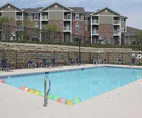 Pool, Cimarron Terrace