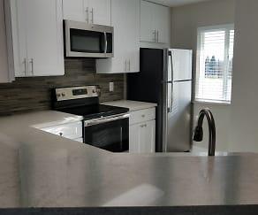 Kitchen, Capri Creek Apartments