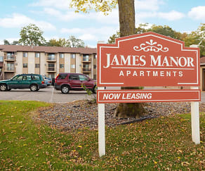 Building, James Manor Apartments