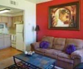 Living Room, RIO SANTA FE APTS