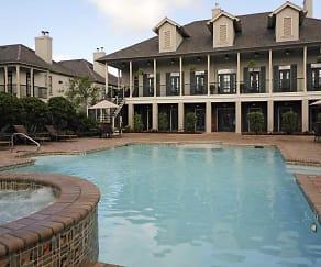 Pool, Chenier Apartments