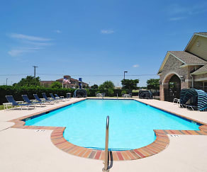 Pool, The Brookside Apartments