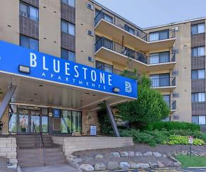 Building, Bluestone Apartments