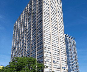 Exterior view of 2101 S. Michigan Apartments, 2101 South Michigan Apartments