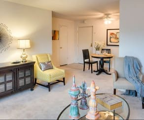 Living Room, Hummingbird Pointe Apartments & The Gardens