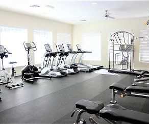 Fitness Weight Room, Mountain Trail Apartments