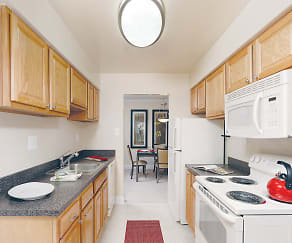 Kitchen, The Apartments at The Sycamores