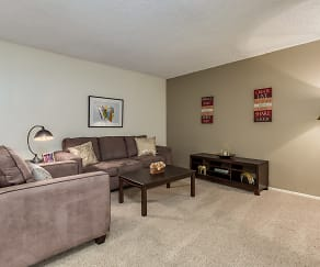 Living Room, Seawind Apartments
