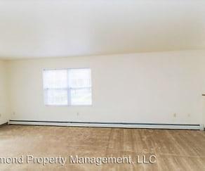 Living Room, Sylvan Glen Apartments