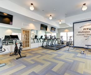 Fitness Weight Room, Midtown Pointe Apartments