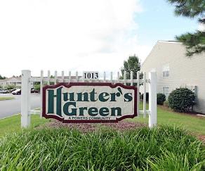 Community Signage, Hunter's Green Apartments