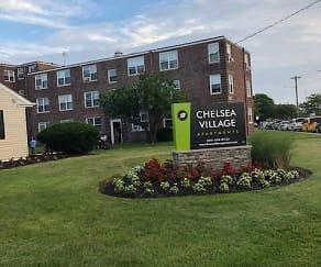 Community Signage, Chelsea Village