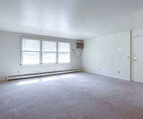 Apartment - Living Room, Sundridge Apartments