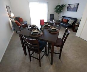 Dining Room, Bradford Lake Apartments