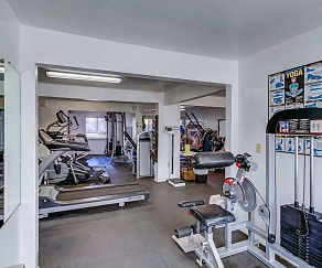Fitness Weight Room, Hethwood Apartment Homes