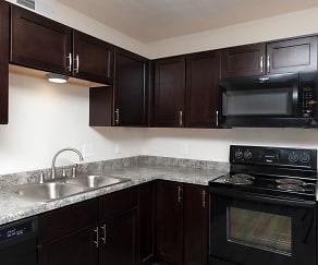 Kitchen, Scotsdale Apartments