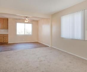 Living Room, Montara Apartments