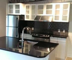 Kitchen, The New East End Theatre Apartments