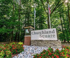 Community Signage, Churchland Square