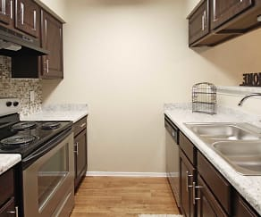 Kitchen, Woodchase Apartments