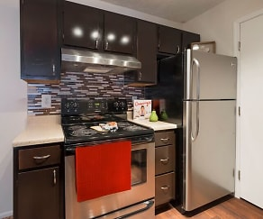 Kitchen, Parkview Apartments
