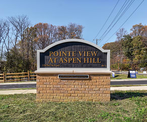 Community Signage, Pointe View At Aspen Hill