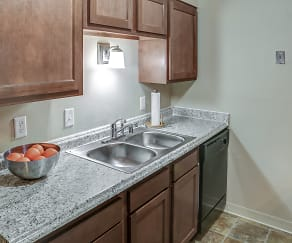 Kitchen, Meadowbrook Apartments