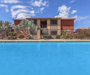 Pool, Cordova Apartments