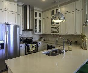 Kitchen, Solstice Apartments