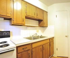 Kitchen, Apartment Village