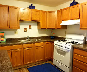 Kitchen, Greenbrook Apartments
