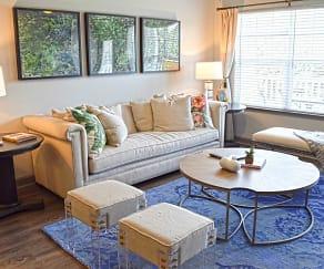 Living Room, The Indigo at Cross Creek