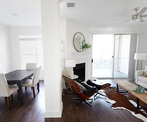 Dining Room, The Courts of Bent Tree Townhomes