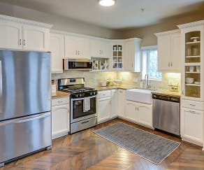 Kitchen, Miramar Apartments