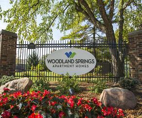 Community Signage, Woodland Springs Manor