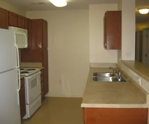 Kitchen, Maple Court Place