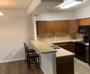Kitchen, Williston Meadows Apartments