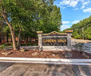Community Signage, Garden Walk Apartments