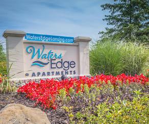 Community Signage, Waters Edge