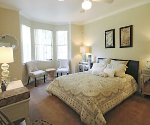 Bedroom, Saddle Brook Apartments