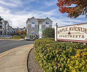 Community Signage, Maple Avenue Apartments