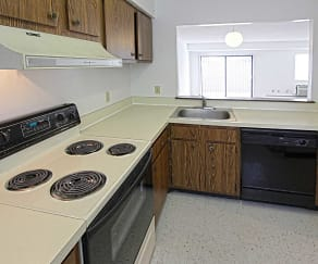 Kitchen, Madison Towers