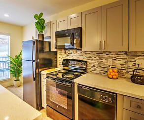 Kitchen, The Dawson at Stratford Apartments