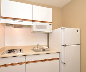 Kitchen, Furnished Studio - Charlotte - Airport
