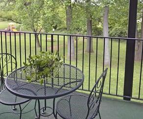 Patio / Deck, Bay Hills Apartments