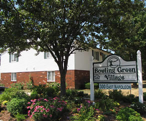 Community Signage, Bowling Green Village