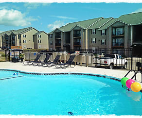 Pool, Terrace Green Apartments at Branson