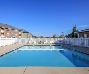 Pool, Towne Park Apartments