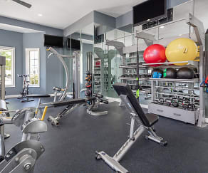 Fitness Weight Room, The Highlands at Alexander Pointe