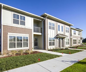Building, Grandview Flats and Townhomes